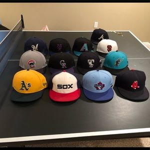 New Era MLB hats